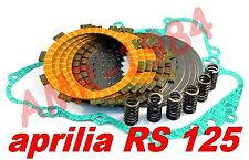 DISCHI FRIZIONE RACING KEVLAR APRILIA RS 125 + GUARNIZ+ MOLLE RINFORZATE F1411SR
