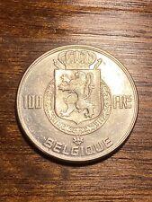 Belgique 100 francs argent 1950 fr , Sup