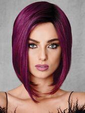 Midnight Berry Fashion Fantasy Wig by Hairdo, HD, Deep Purple, Angled Bob