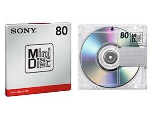 X5 Sony Japan Audio Mini discs MD 80min MiniDisc MDW80T
