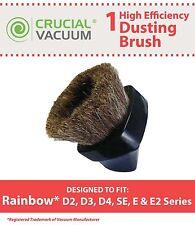 Rainbow Vacuum D2 D3 D4 SE E E2 Dusting Brush Tool Fits D2 D3 D4 SE E E2