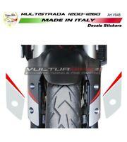 """Adesivi per parafango - Moto Ducati Multistrada 1200 / 1260 """"V848"""