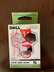 Genuine Dell Series 5 Black Print Cartridge j5566  NEW & SEALED