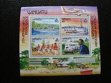 VANUATU - timbre yvert et tellier bloc n° 8 n** (Z4) stamp (Z)