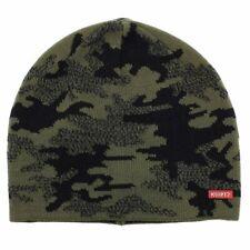 Kurtz Men's Battle Camo Beanie AK380 Military/Black Knit Beanie Hat (One Size)