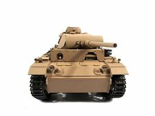 Complete Metal 1/16 Mato Panzer III KIT Ver Infrared RC Tank Yellow Color 1223
