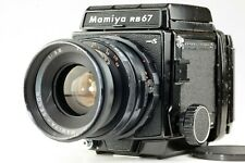 【 EXC++++】 Mamiya RB67 Pro S w/ Sekor 90mm f/3.8 Lens + 120 Film Back From JAPAN