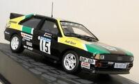 Altaya 1/43 Scale Audi Quattro Tour De Corse Rally 1981 Diecast Model Car