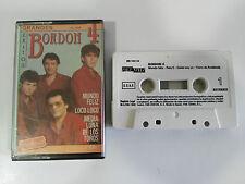 BORDON 4 GRANDES EXITOS CINTA TAPE CASSETTE 1988 SPANISH EDITION