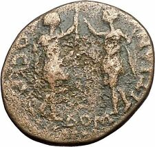DOMITIAN with TITUS Rare Poss UNPUBLISHED Amphipolis Roman Coin Europa i48855