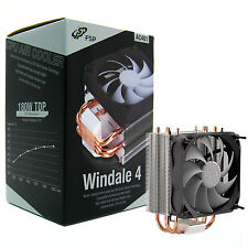 FSP Windale 4 CPU Cooler 4 Direct Contact Heatpipes (AC401) (OPEN BOX)
