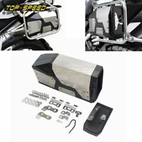 For BMW R1250GS R1200GS ADV LC Decorative Aluminum Box Toolbox Left Side Bracket