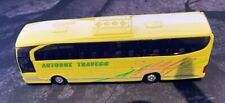 MERCEDES-BENZ TRAVEGO BUS, YELLOW WELLY SCALE 1:60 DIECAST BUS MODEL 52590