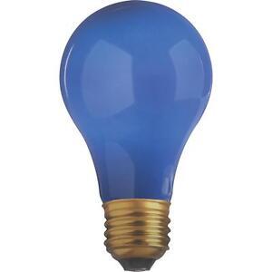 Satco 25W Blue Party Bulb