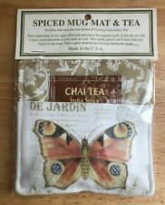 SPICED MUG MAT & TEA ALICE'S COTTAGE CHAI TEA INDIA SPICE BRAND NEW