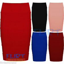 Unbranded Polyester Straight, Pencil Skirts for Women