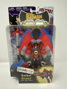 2004 MATTEL DC THE BATMAN DELUXE BATBOT~ACTION FIGURE~Unopened Rare.