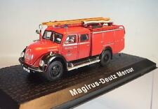Atlas 1/72 Magirus Deutz Mercur Feuerwehr Rüstwagen OVP #4347