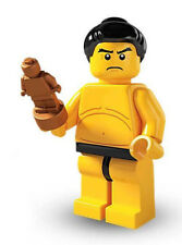 Unopened LEGO® SERIES 3 -8803-Sumo Wrestler-minifigure (#7) Sealed Foil Pouch