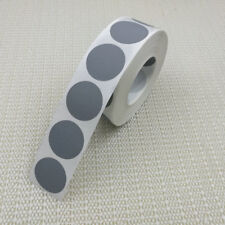 "1000Pcs Blank Scratch Off Sticker 25mm*25mm 1"" Round Silver Color Free shipping"