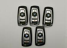Lot of 5 Keyless Entry Remotes BMW Locksmith Smart Key Fobs