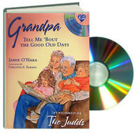 Grandpa Tell Me 'Bout the Good Old Days (Board Book & CD)  FREE shipping $35