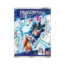 Bandai Dragon Ball Shikishi Art 6 séries - Piece Rare Limited 1 Card 1 Carte NEW