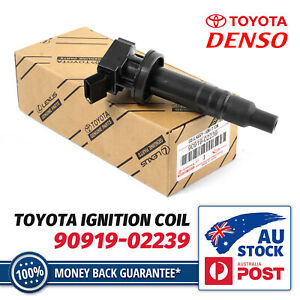 1X Ignition Coil For Toyota Corolla ZZE122R 2001-2007 MR2 1999-2005 1ZZ-FE 1.8L