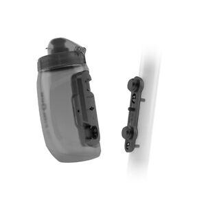 Fidlock Twist Bottle + Bike Base Kit 450ml - Trans Black Mountain Bike Magnetic