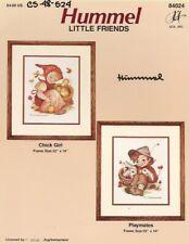 Vintage Hummel - Chick Girl & Playmates Cross Stitch Charts - JCA, Inc.