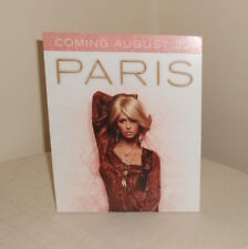 Paris Hilton Cardboard Display Poster Original Promo 14x5.5 RARE