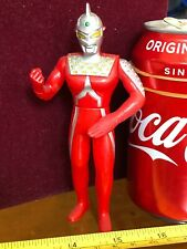 ULTRAMAN ULTRA MAN Rare Official Action Figure Silver Spike Helmet