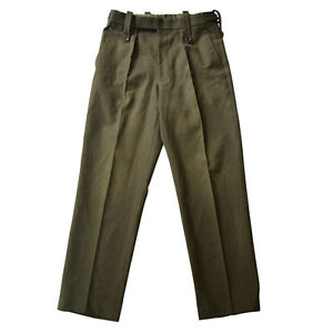 Trousers Royal Marines Mens RM Light Weight Lovat Barrack Olive Pants British
