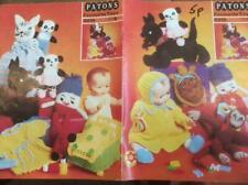"Vintage Scottie Dog /""Hector/"" Toy  Knitting Pattern"