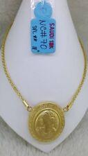 "GOLD: 18k Saudi Gold Necklace 18"""