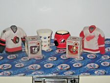 Set of 6 Hockey Collectibles- Jerseys, Xmas Balls, Koolie, Cup