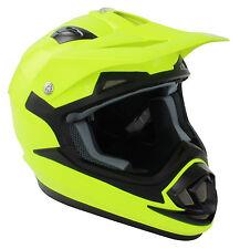 Nuevo Flo Amarillo Adulto Motocross Mx Enduro Quad Atv Mtb Dh Bmx del casco