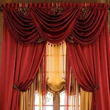 Luxurious HYATT WINDOW TREATMENT,window curtain: Panel OR valance, SOLD SEPARATE