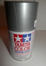 Tamiya Color for Polycarbonate 100 ml. Semi Gloss Silver Anodized Alum. #Ps-48