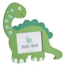 New Green Diplodocus Dinosaur Wooden Picture Photo Frame
