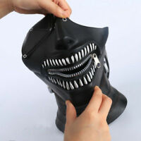 2018 Movie Tokyo Ghoul Mask Ken Kaneki Hood Halloween Party Cosplay Props Helmet
