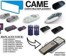 CAME TOP432NA, TOP434NA, TOP434A, TOP432SA, TWIN2 kompatibel handsender / KLONE