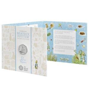 Peter Rabbit 2018 UK 50p BUNC (NEW) Lower Mintage than Jemima Puddle-Duck