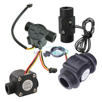 DN25 DC 5-24V/AC 220V G1/2 Water Flow Sensor Switch Liquid Flowmeter Counter