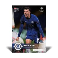 13k FB No Cancel - Mason Mount UCL Topps Now 2021 Card #74 UEFA Champions League