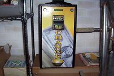 Change Machine Bill Changer One Dollar Bill or Five Dollar Bill Quarters used