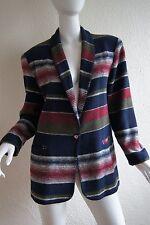 VINTAGE David Paul New York Blanket Southwestern Jacket Blazer