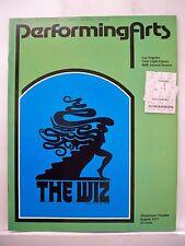 THE WIZ Large Program RENEE HARRIS / BEN HARNEY / KEN PRYMUS Tour LA 1977