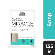 Luxe Organix Miracle Soap For Face & Body 135g