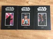star wars 30th anniversary Hardcover Book Lot RARE OOP DARK HORSE VOLUMES 6 7 12